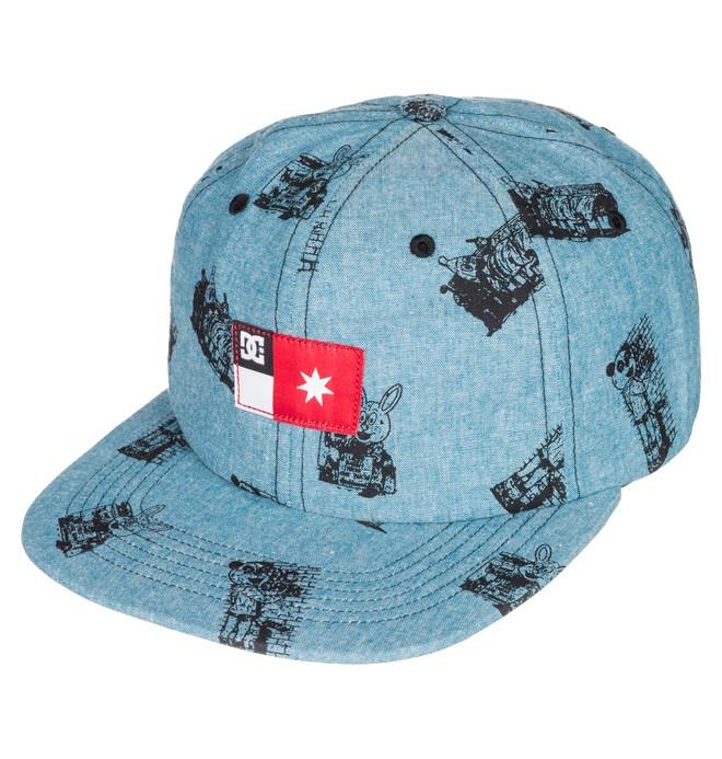 0 Men's Cliver Cap Snapback Hat  ADYHA03175 DC Shoes