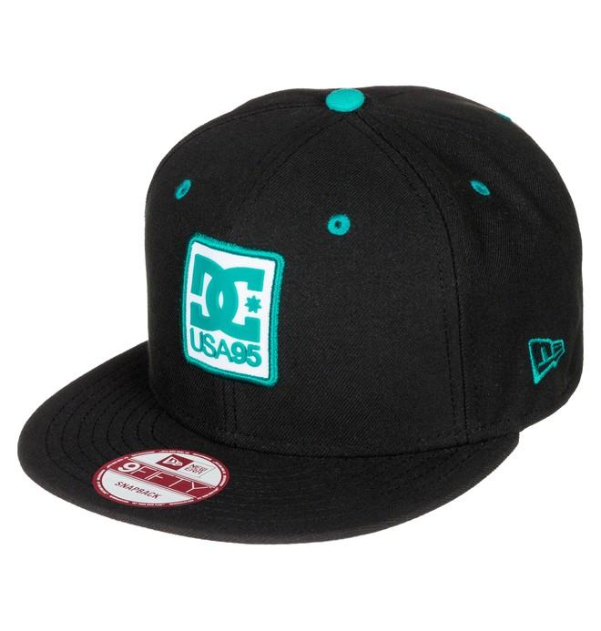 0 Men's RD Tab Snapback Hat  ADYHA03177 DC Shoes