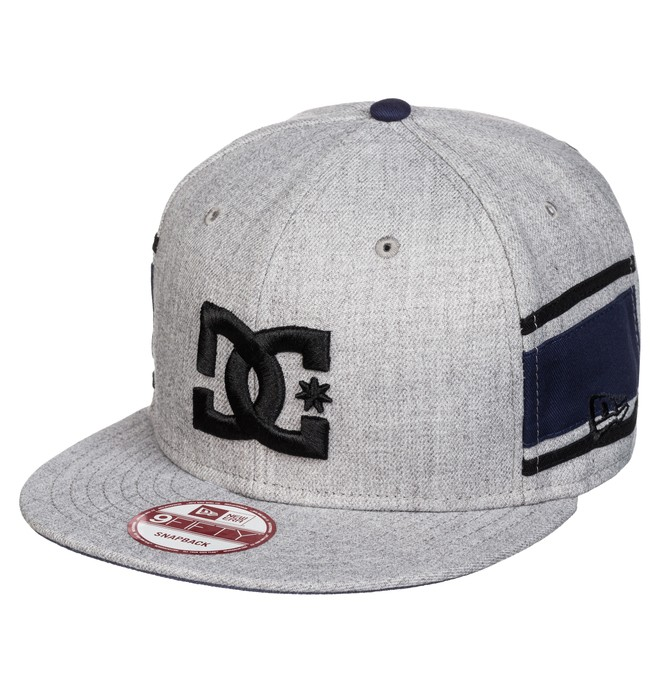 0 Men's RD Alumni Stripe 3 Snapback Trucker Hat  ADYHA03219 DC Shoes