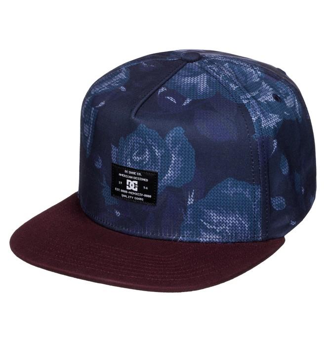 0 Men's Breeson Snapback Hat  ADYHA03250 DC Shoes