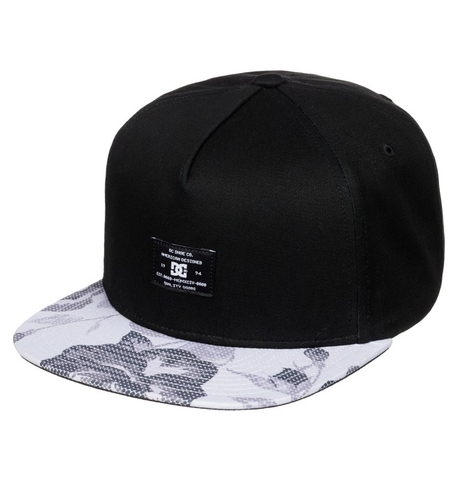 0 Men's Foregore Snapback Hat  ADYHA03275 DC Shoes