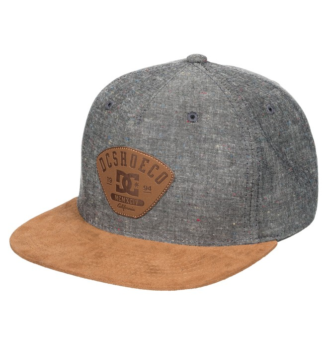 0 Men's Spacecoat Snapback Hat  ADYHA03279 DC Shoes