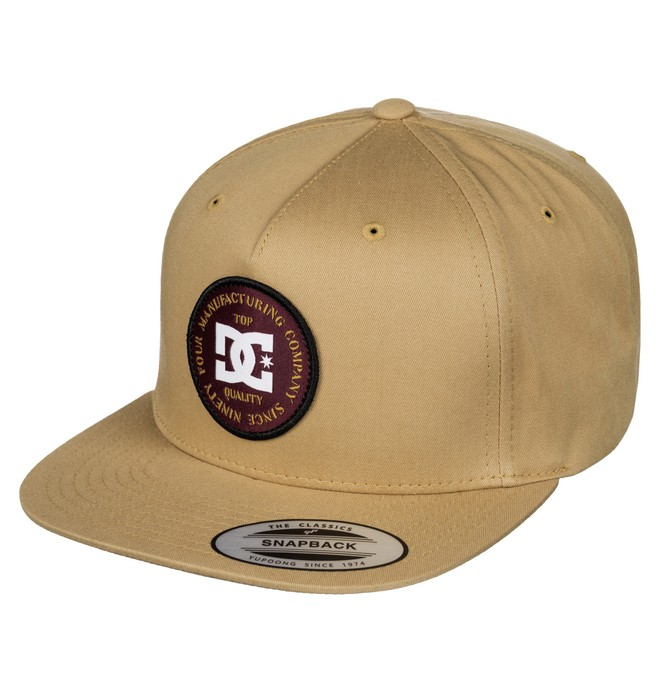0 Men's Chargy Snapback Hat  ADYHA03335 DC Shoes