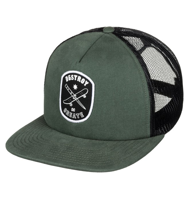 0 Tearbait - Gorra Tipo Trucker  ADYHA03349 DC Shoes