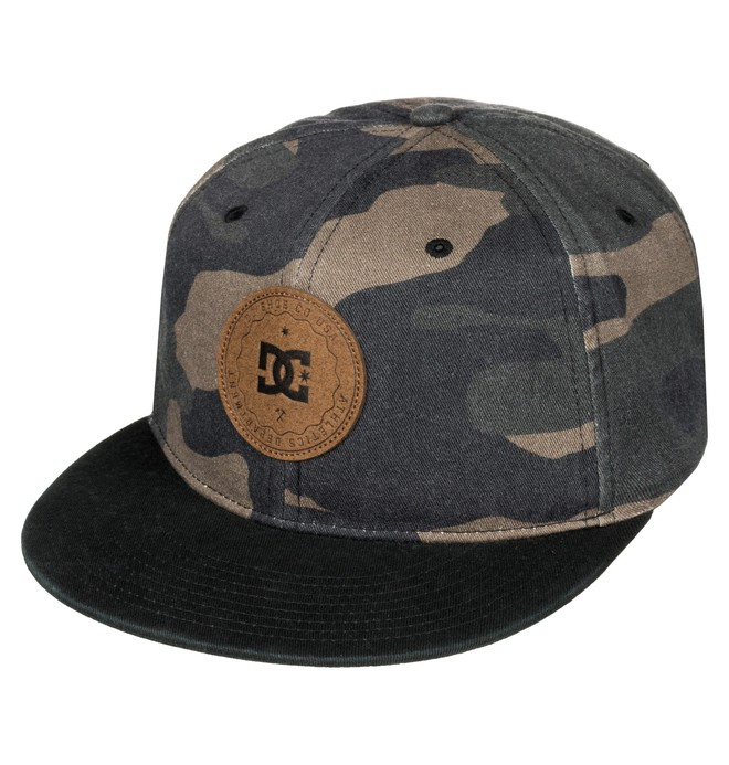 0 Men's Cambo Snapback Hat  ADYHA03350 DC Shoes