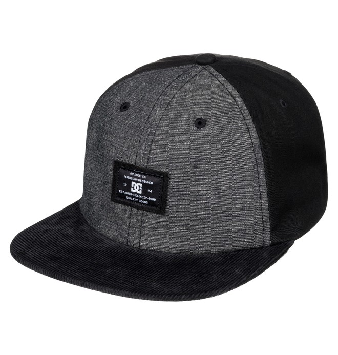 0 Men's Ruthy Snapback Hat  ADYHA03358 DC Shoes