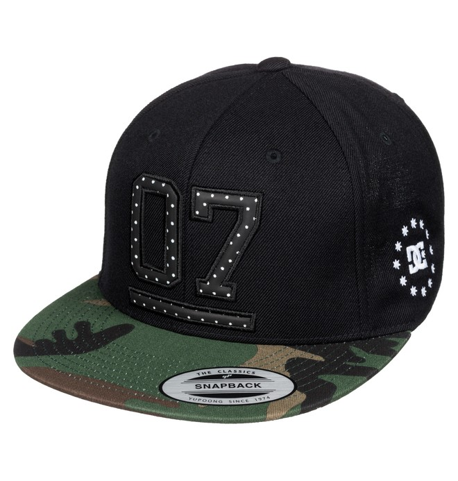 0 Men's Oh Seven Hat  ADYHA03380 DC Shoes
