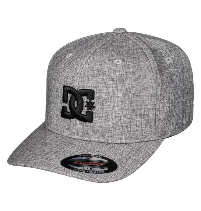 0 Men's Hatstar TX Hat Grey ADYHA03387 DC Shoes