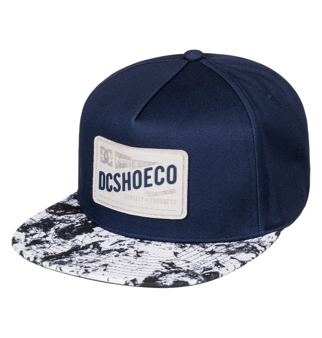 0 Men's Leatherstan Snapback Hat  ADYHA03427 DC Shoes