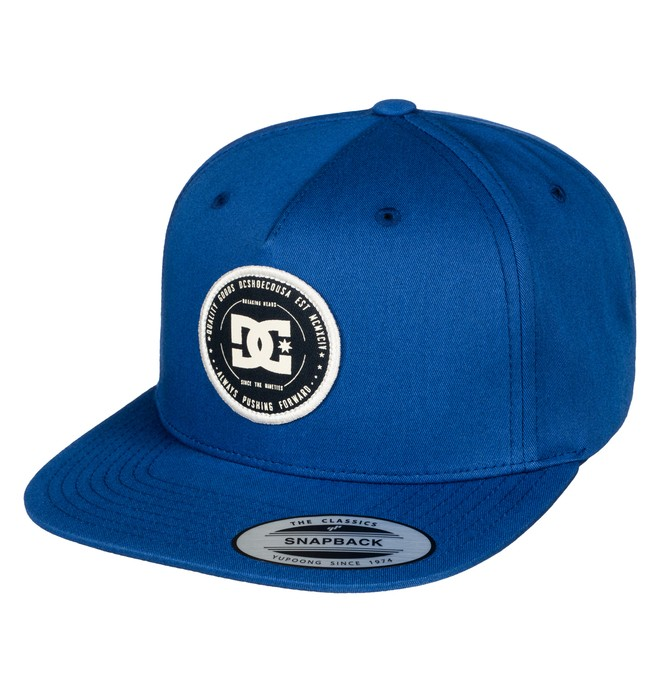 0 Men's Rebuilter Snapback Hat  ADYHA03448 DC Shoes
