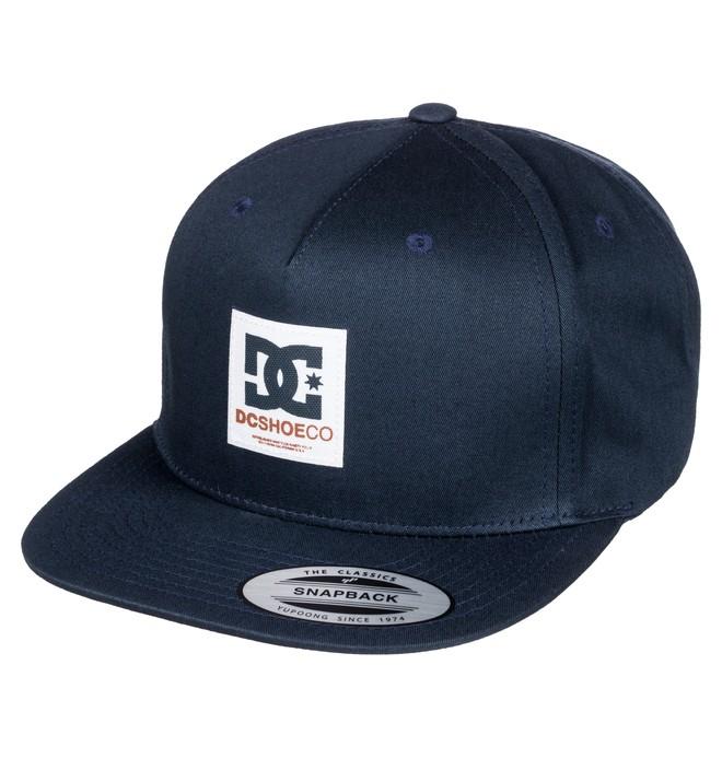 0 Men's Boxcloud Snapback Hat  ADYHA03463 DC Shoes