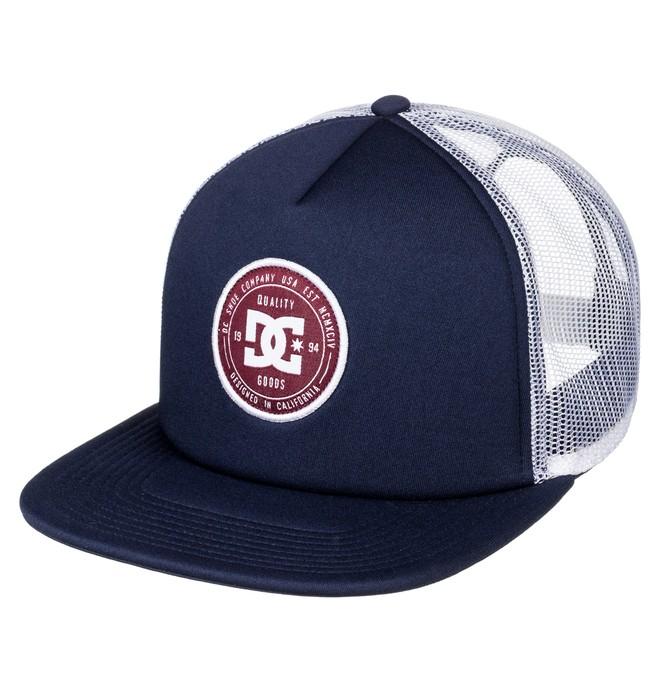 0 Men's Harlenson Trucker Hat  ADYHA03472 DC Shoes