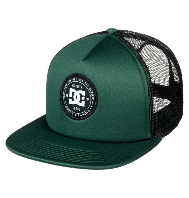 0 Harlenson - Trucker Cap for Men Green ADYHA03472 DC Shoes