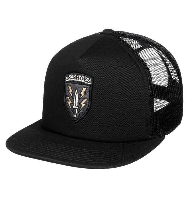 0 Surplus - Trucker Cap Black ADYHA03473 DC Shoes