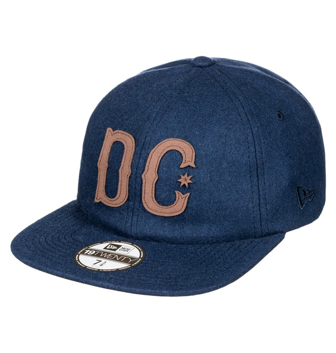 0 Men's Jet Fielder Fitted Hat  ADYHA03484 DC Shoes