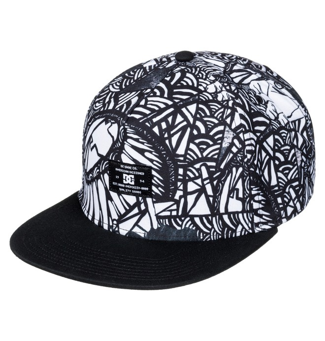 0 Darbotz Collab - Snapback Cap for Men  ADYHA03486 DC Shoes