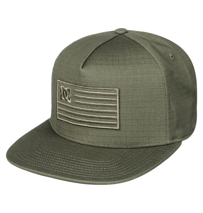 0 Flagman Snapback Hat  ADYHA03516 DC Shoes