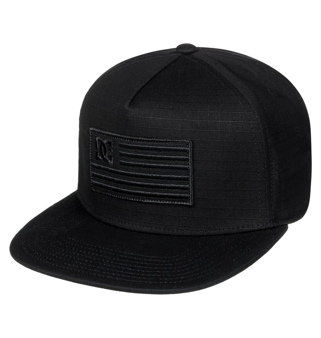 0 Men's Flagman Snapback Hat  ADYHA03516 DC Shoes