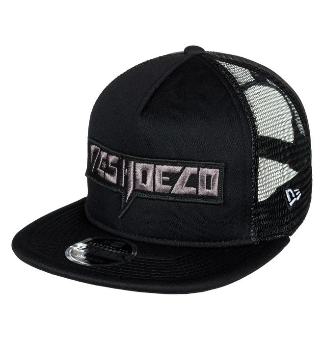 0 Men's Slaydum Trucker Hat Black ADYHA03519 DC Shoes