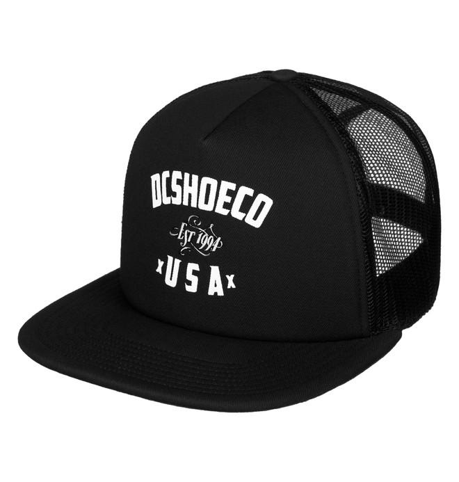 0 Men's Sugihara Trucker Hat  ADYHA03545 DC Shoes