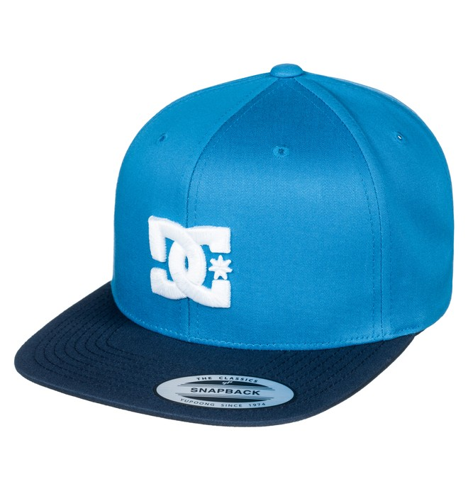 0 Snappy - Snapback Cap Blue ADYHA03575 DC Shoes