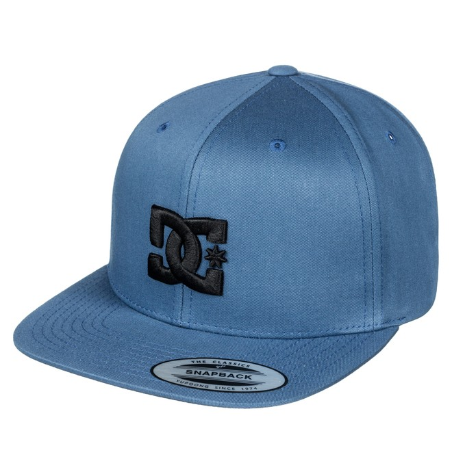0 Snappy - Snapback Cap for Men Blue ADYHA03575 DC Shoes