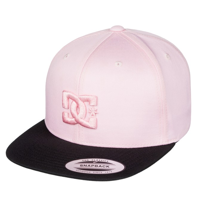 0 Snappy - Snapback Cap for Men Pink ADYHA03575 DC Shoes