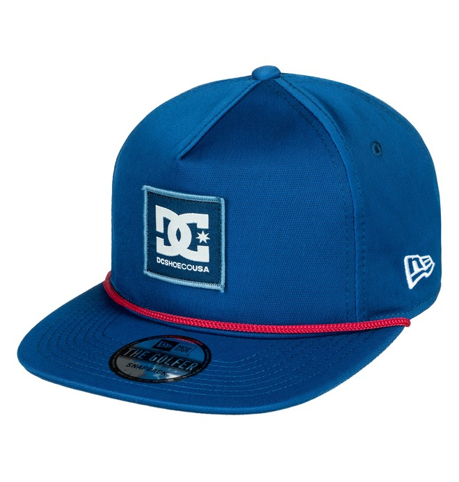 0 Shakes The Hat Snapback Hat Blue ADYHA03601 DC Shoes