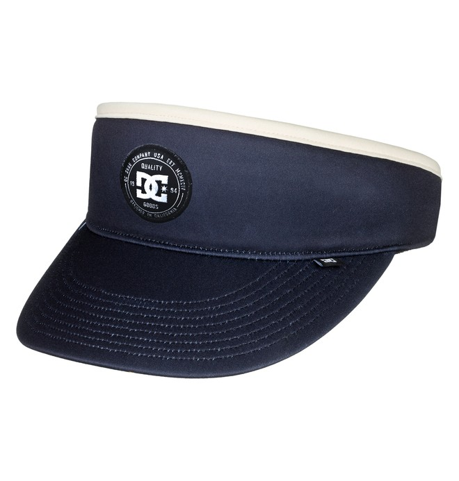 0 Men's Floyd Visor Hat Blue ADYHA03605 DC Shoes