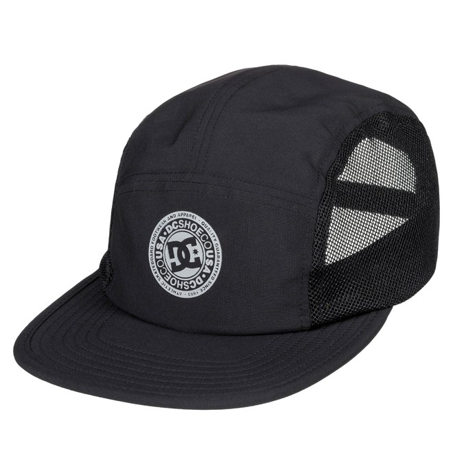 0 Men's Toneballer Camper Hat Black ADYHA03627 DC Shoes
