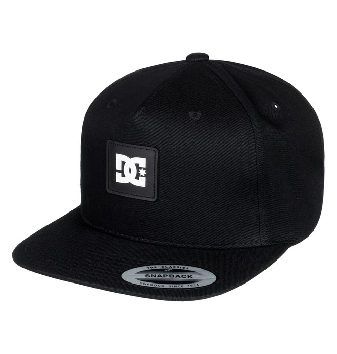 0 Snapdoodle Snapback Hat Black ADYHA03631 DC Shoes