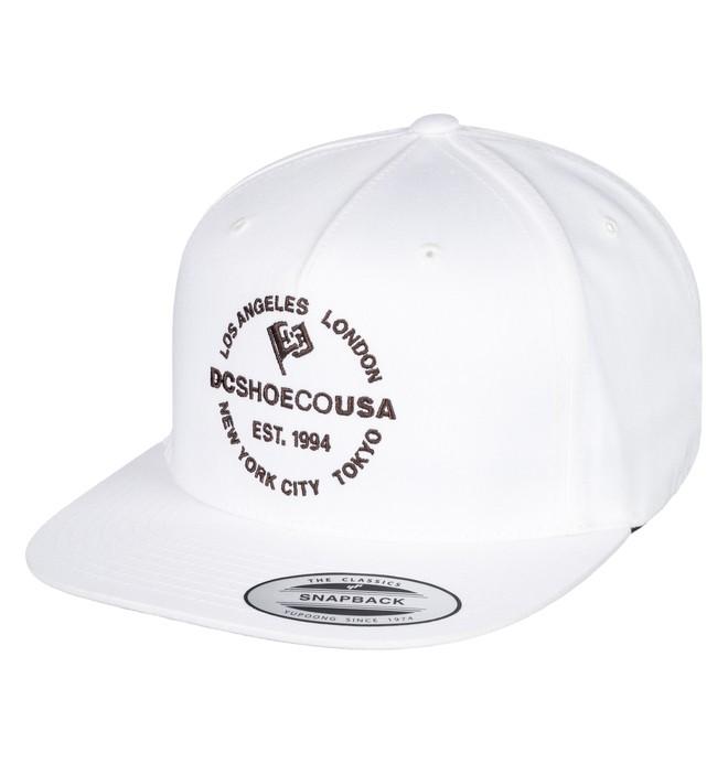 0 Starlighter Snapback Hat White ADYHA03632 DC Shoes