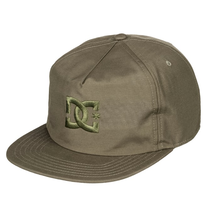 0 Floora Snapback Hat Brown ADYHA03635 DC Shoes
