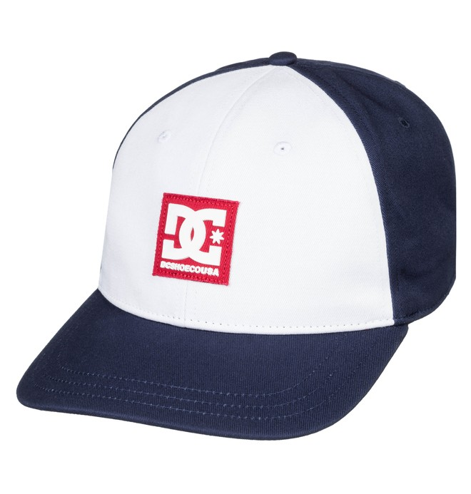 0 Men's Spinner Snapback Hat Blue ADYHA03636 DC Shoes