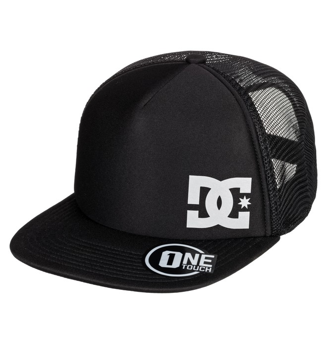 0 Greeters Trucker Hat Black ADYHA03638 DC Shoes
