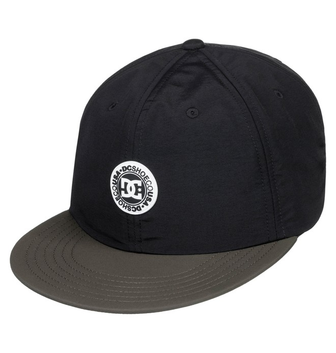 0 Fountains Snapback Hat Black ADYHA03641 DC Shoes