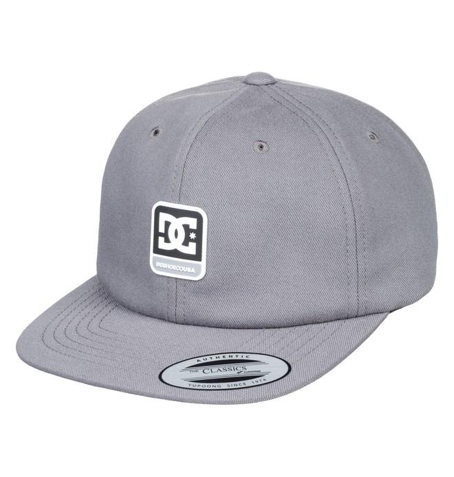 0 Men's Roundballer Snapback Hat Green ADYHA03642 DC Shoes