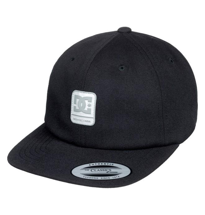 0 Roundballer - Snapback Cap for Men Black ADYHA03642 DC Shoes