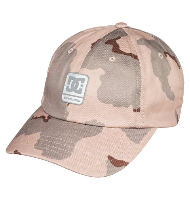 0 Men's Camolit Baseball Hat Brown ADYHA03643 DC Shoes