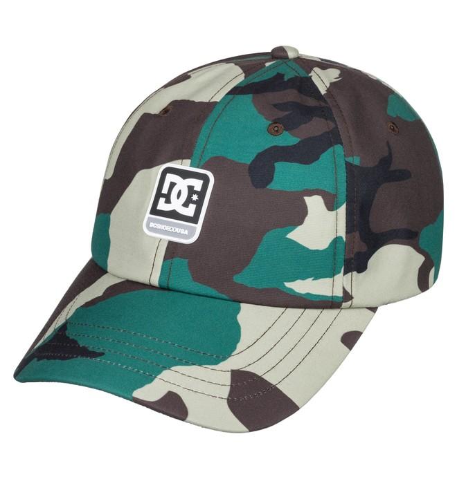 0 Camolit Baseball Hat Green ADYHA03643 DC Shoes