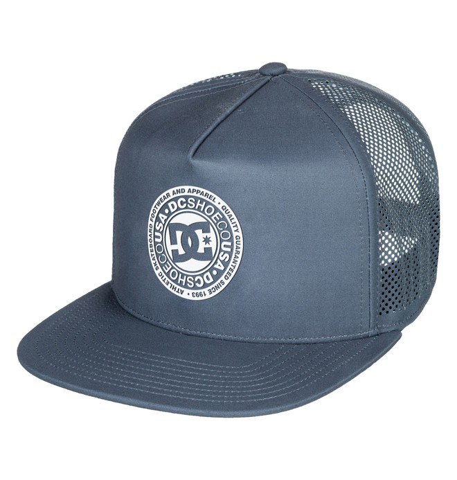 0 Men's Perftailer Snapback Hat Blue ADYHA03645 DC Shoes