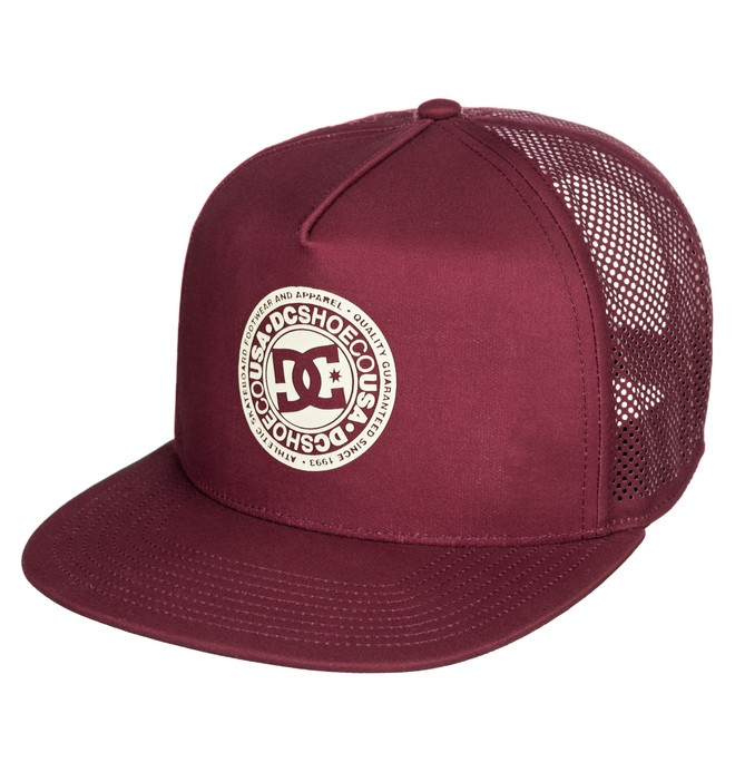 0 Perftailer Snapback Hat Red ADYHA03645 DC Shoes