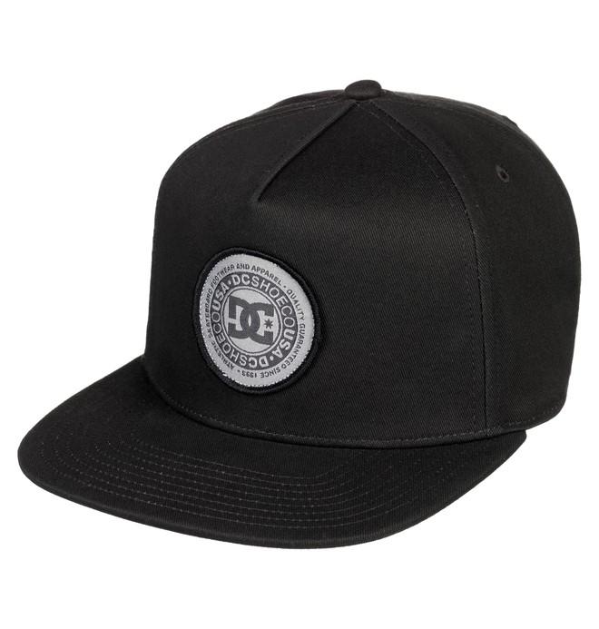 0 Cresty Snapback Hat Black ADYHA03646 DC Shoes