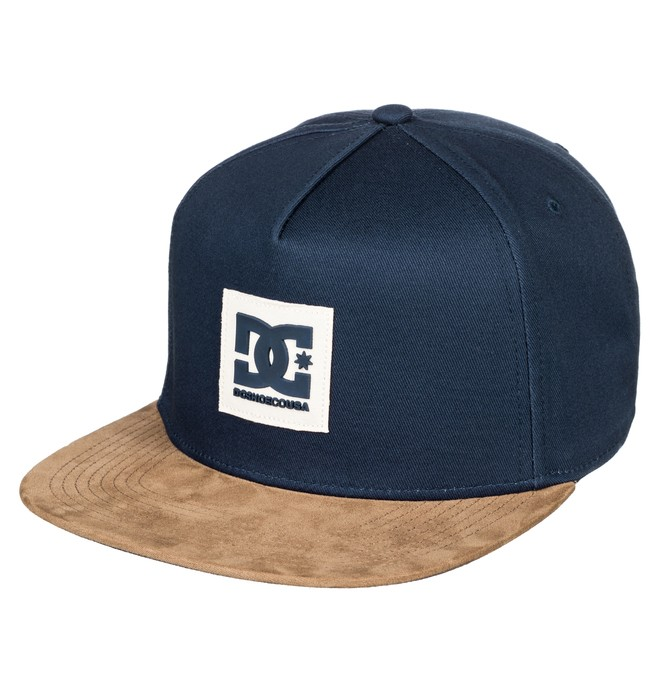 0 Dacks - Snapback Cap Blue ADYHA03647 DC Shoes