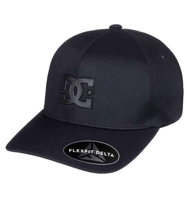 0 Pop It Delta - Flexfit Hat Black ADYHA03677 DC Shoes