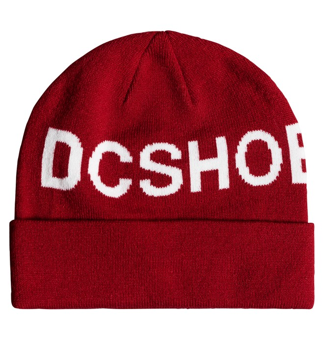 0 Skate Beanie Red ADYHA03687 DC Shoes