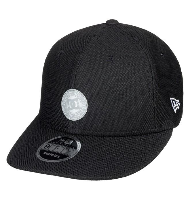 0 Low Liner Snapback Hat Black ADYHA03723 DC Shoes