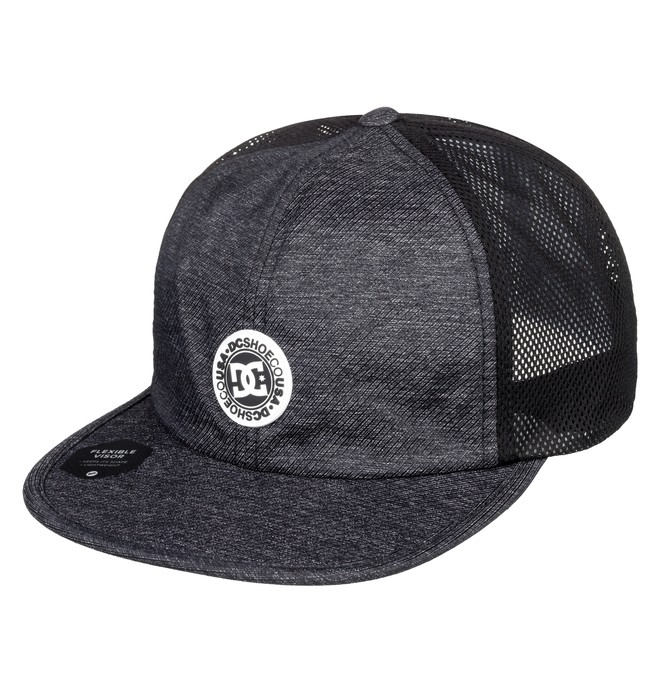 0 Crosshair Toggle Closure Hat Black ADYHA03744 DC Shoes