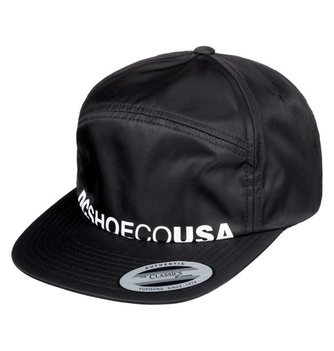 0 Crockeye Arch Shape Hat Black ADYHA03747 DC Shoes