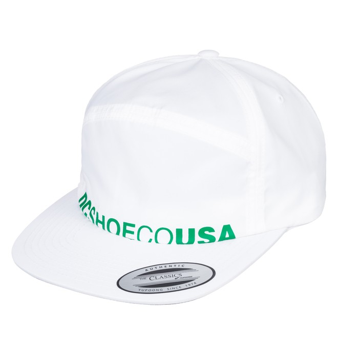 0 Crockeye Arch Shape Hat White ADYHA03747 DC Shoes